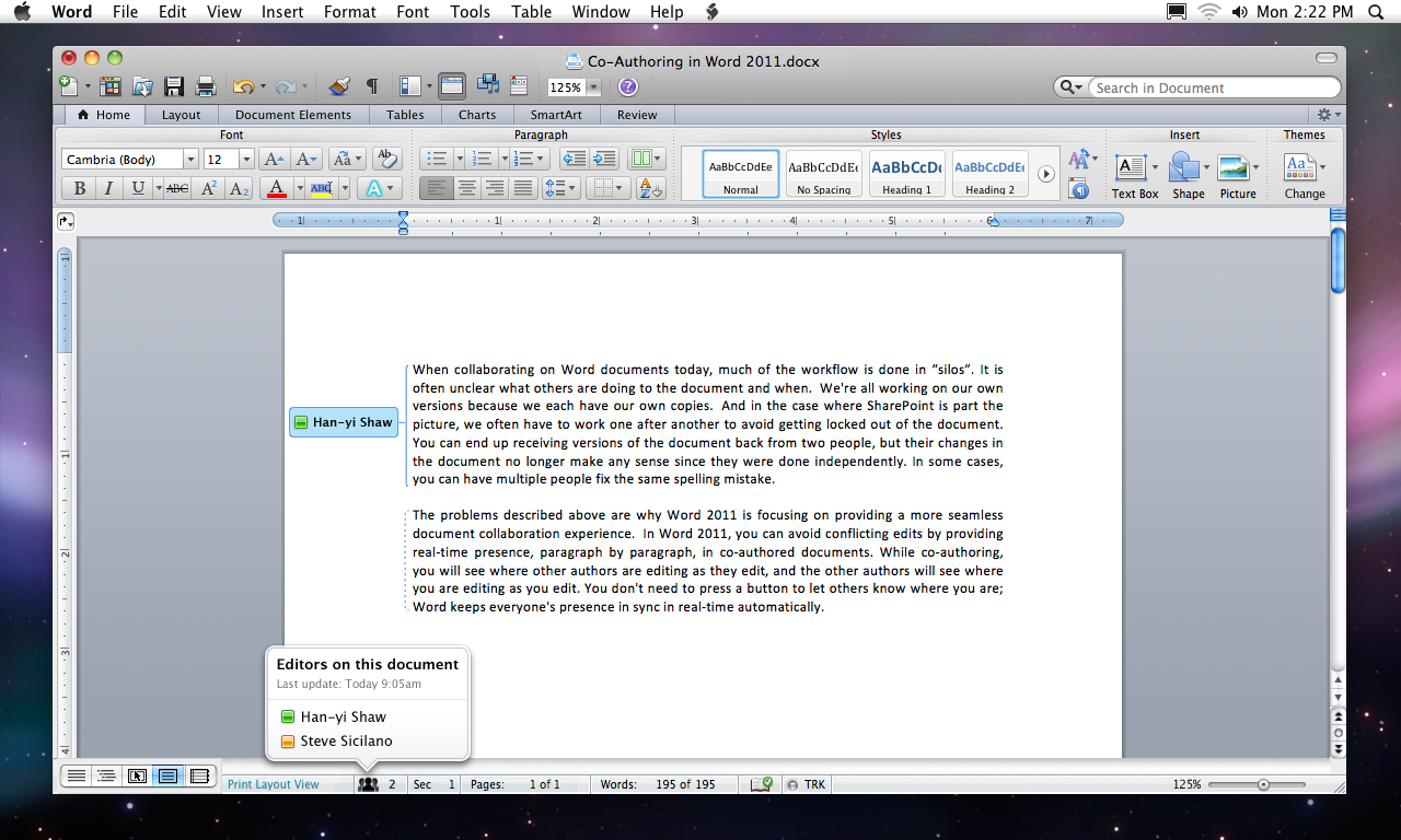 Word 2011 co authoring apple39s blog for Download documents on mac